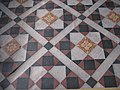 Detail of the tiled floor in St Mary's church, Minster - geograph.org.uk - 1638459.jpg