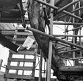 Detail van het houtwerk van de vieringtoren, tijdens restauratie - Haarlem - 20380580 - RCE.jpg