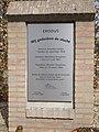 Detailfoto exodusmonument 'Wij gedenken de vlucht' op de oude begraafplaats te Huissen.jpg
