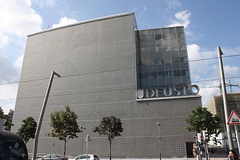 English: Deusto University New Library, Bilbao...