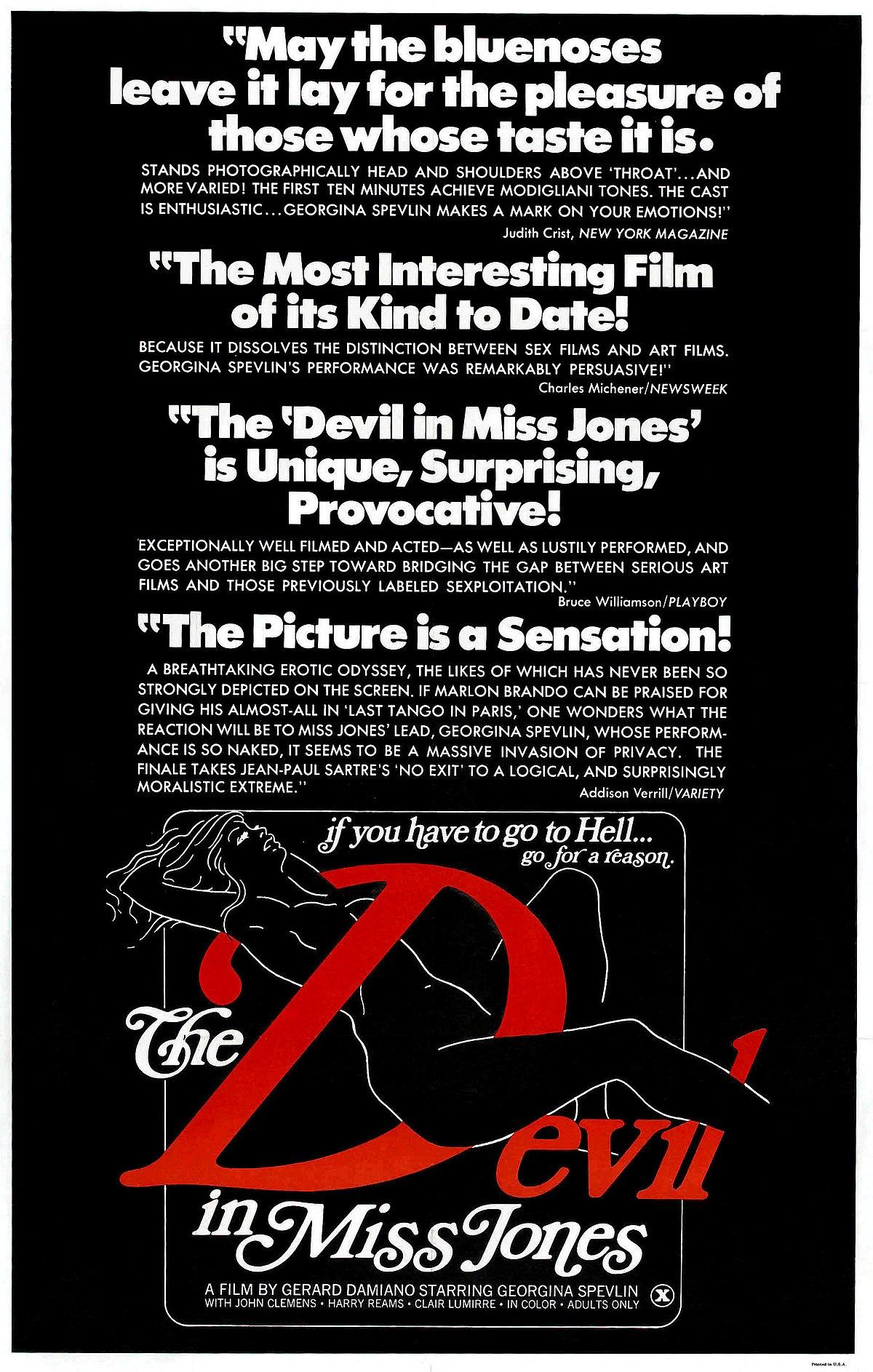 Deep throat devil in miss joans