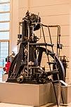 Einer der ersten Dieselmotoren, hergestellt von Langen & Wolf (1898)