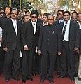 Digambar Kamat, at the inaugural ceremony of 42nd International Film Festival of India (IFFI-2011), at Ravindra Bhavan, in Madgaon, Goa on November, 23, 2011.jpg