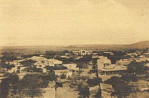 Dire Dawa - Panorama of Dire Dawa c. 1915