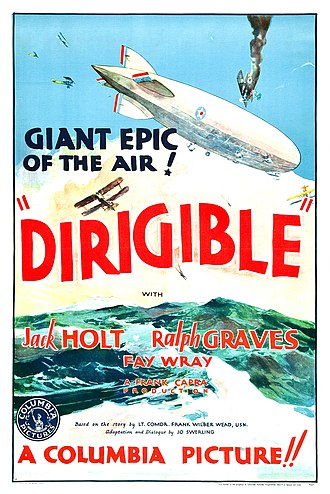 Dirigible (film) - Theatrical release poster