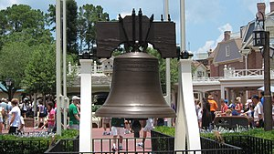 Liberty Square (Magic Kingdom) - Liberty Square's Liberty Bell Replica