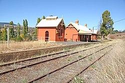 Disused Railway Station Carcoar NSW