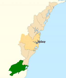 Division of Throsby Australian federal electoral division