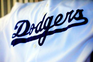 Dodgers Uniform Script