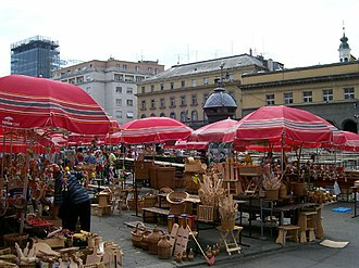 Dolac Market - Dolac