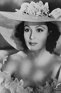 Dolores del Río Mexican actress