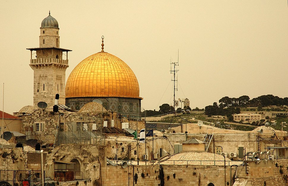 Dome of the Rock by Peter Mulligan