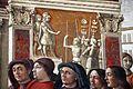 Domenico ghirlandaio, monocromi della cappella tornabuoni (annuncio a zaccaria), 1485-90, 03.jpg