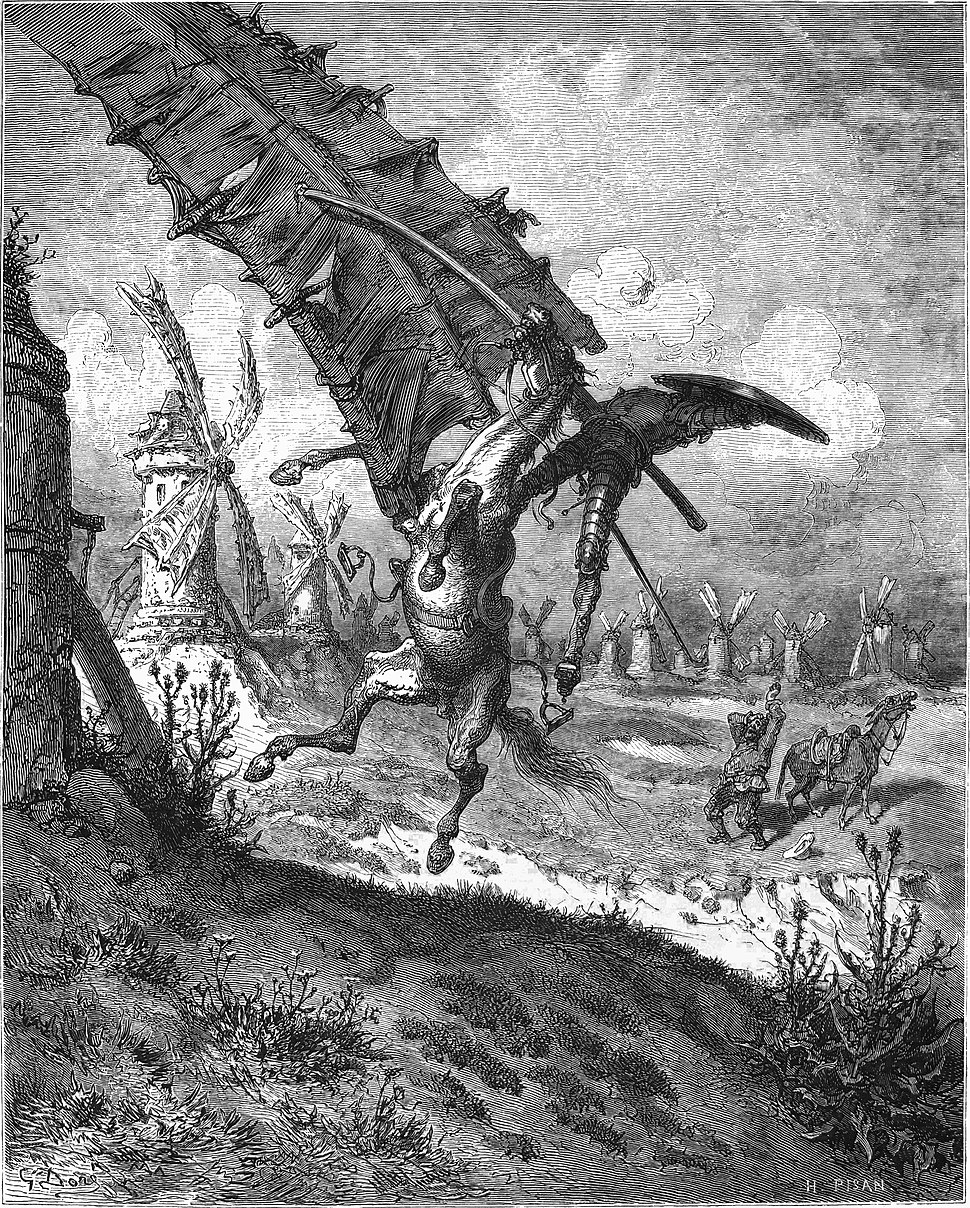 Don Quijote Illustration by Gustave Dore VII