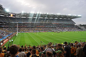 Donegal beat Kildare in the 2011 All-Ireland Senior Football Championship quarter-final.jpg