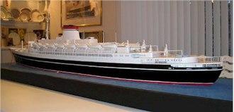 SS Andrea Doria - A model of Andrea Doria