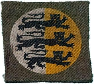 226th Infantry Brigade (United Kingdom) - Dorset County Division insignia
