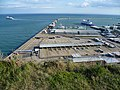 Dover Harbour from Langdon Cliffs - geograph.org.uk - 2550063.jpg
