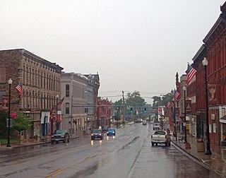 Albion (village), New York Village in New York, United States