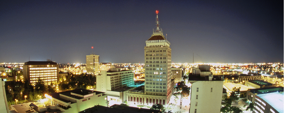 Downtown Fresno Night