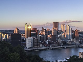 Downtown Pittsburgh Neighborhood of Pittsburgh in Allegheny County, Pennsylvania, United States
