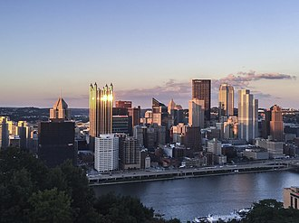 Downtown Pittsburgh - Iconic View of Downtown, From Mt. Washington