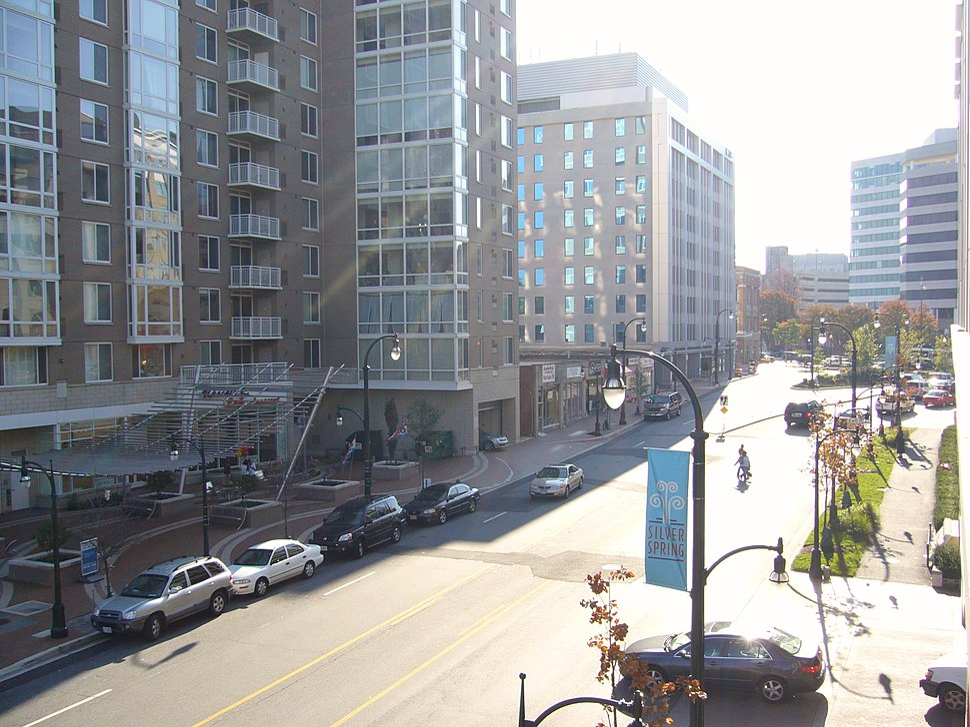 Downtown silver spring wayne