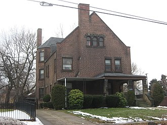 National Register of Historic Places listings in Cleveland - Image: Dr. James Bell House