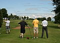 Driving off the 7th tee at Lockerbie Golf Course - geograph.org.uk - 1372495.jpg
