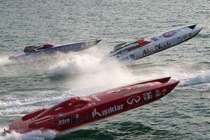 Class 1 World Powerboat Championship - Class 1 Grand Prix Dubai 2012