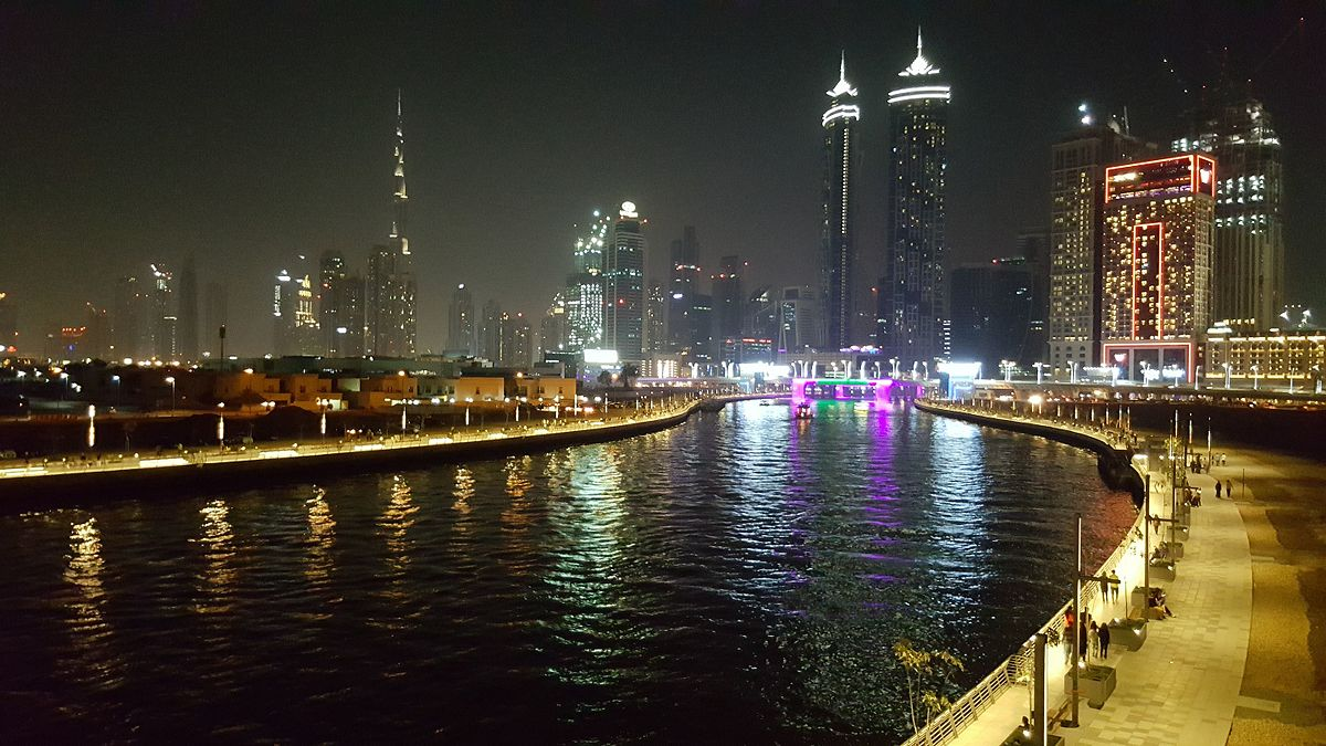 Dubai Water Canal - Wikipedia