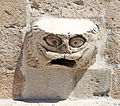 Dubrovnik, chiesa francescana, esterno, mascherone.JPG