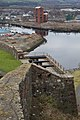 Dumbarton Castle - view of Prince Regent's Battery.jpg