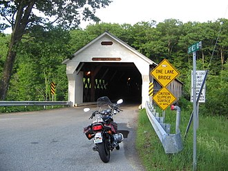 Dummerston, Vermont - West Dummerston Covered Bridge