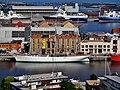 Dunkerque Belfried Blick vom Turm auf Duchesse Anne.jpg