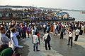 Durga Idol Immersion Ceremony - Baja Kadamtala Ghat - Kolkata 2012-10-24 1676.JPG