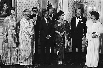 President Ziaur Rahman and First Lady Khaleda Zia with the Dutch royal family in 1979 Dutch Royal Family meets Ziaur Rahman and wife 1979.jpg