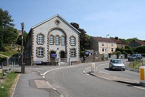 Dunvant - Ebenezer Congregational Chapel, first home of the Dunvant Male Choir - Côr Meibion Dyfnant