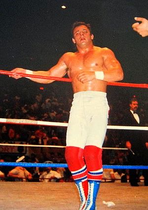 Dynamite Kid - Billington as part of The British Bulldogs