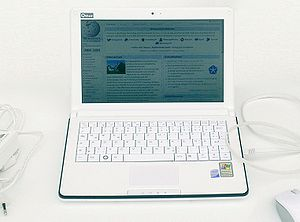 ECS G10IL - ECS G10IL XP Netbook with a built-in GSM (HSDPA) module (European use)