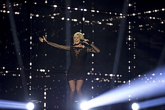 Sweden in the Eurovision Song Contest 2014 - Sanna Nielsen at the first semi-final dress rehearsal