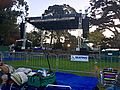 Early morning at the Banjo Stage -- HSB 2015 (21792579020).jpg