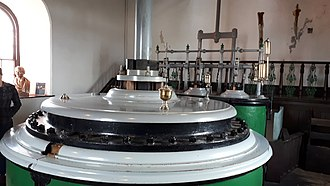 Cornish engine - Image: East Pool Mine Taylor's Shaft main steam cylinder