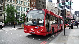 East Thames Buses - East Lancs Myllennium bodied Scania N94UB on route 42 in June 2009