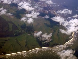 Beachy Head - Aerial view of Beachy Head
