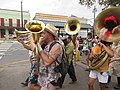 Easter Sunday in New Orleans - Brass Band Jam by Armstrong Arch 15.jpg