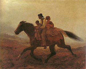 Eastman Johnson - A Ride for Liberty -- The Fu...