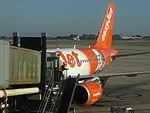 EasyJet (G-EZBI), Barcelona Airport, January 2015 (06).JPG