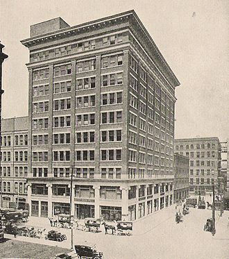 Eaton's Annex - The Eaton's House Furnishing Building in 1919, later known as the Eaton's Annex.