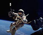 Ed White performs first U.S. spacewalk - GPN-2006-000025-crop.jpg